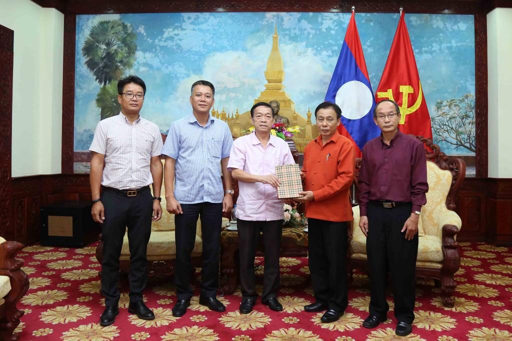 Bộ KH&ĐT quyên góp 21.000 USD ủng hộ nhân dân Lào - ảnh 2