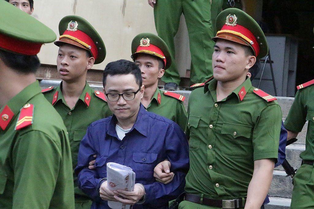 Bị can Nguyễn Việt Hà - TGĐ Công ty Cổ phần Quản lý Quỹ Lộc Việt nhận ủy thác, mua - bán trái phiếu trái quy định