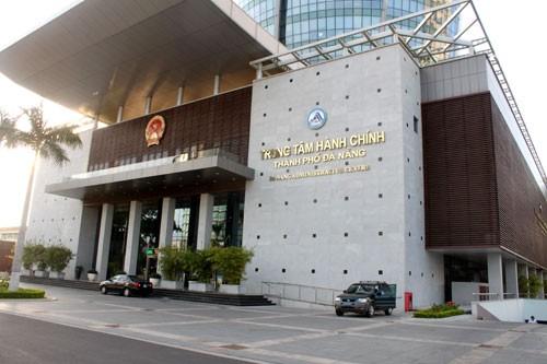 Trụ sở Trung tâm Hành chính TP Đà Nẵng. Ảnh Internet