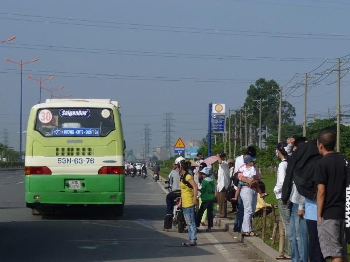 TP HCM đầu tư gần xây dựng bãi trung chuyển xe buýt tại 152 đường Điện Biên Phủ, P25, quận Bình Thạnh. Ảnh minh họa: Internet