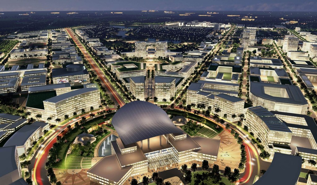 TP.HCM dự kiến hình thành khu đô thị sáng tạo trên địa bàn Quận 2, Quận 9, quận Thủ Đức, phía Đông TP.HCM. Ảnh Internet