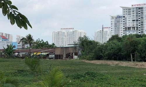 Một góc khu đất 32ha Quốc Cường Gia Lai mua hụt từ Công ty Tân Thuận và bị thu hồi để đấu giá lại.
