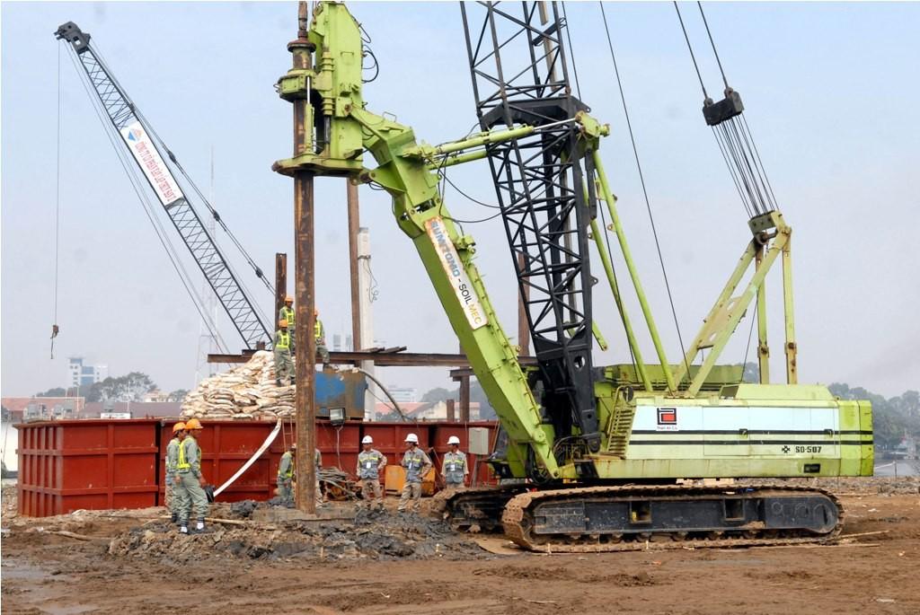 Dự án cầu Thủ Thiêm 2 được khởi công ngày 3/2/2015