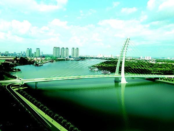 TPHCM đề nghị Bộ Quốc phòng giao đất xây cầu Thủ Thiêm 2 - ảnh 1