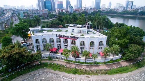 Một nhà hàng của Công ty Lã Vọng ở Hà Nội.