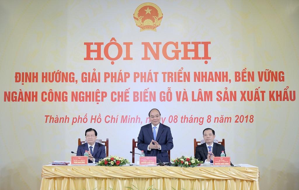 Thủ tướng chủ trì Hội nghị tạo lực đẩy cho ngành lâm nghiệp - ảnh 2
