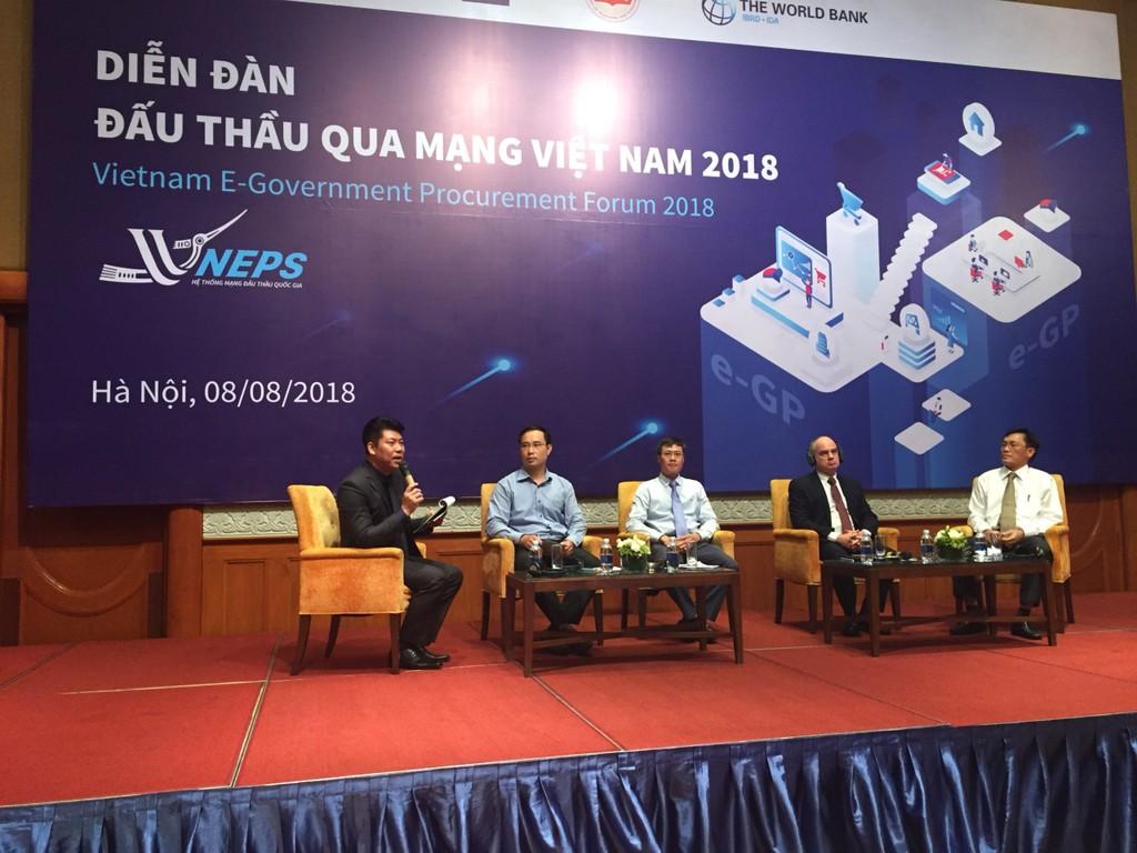 Khai mạc Diễn đàn Đấu thầu qua mạng Việt Nam 2018 - ảnh 17