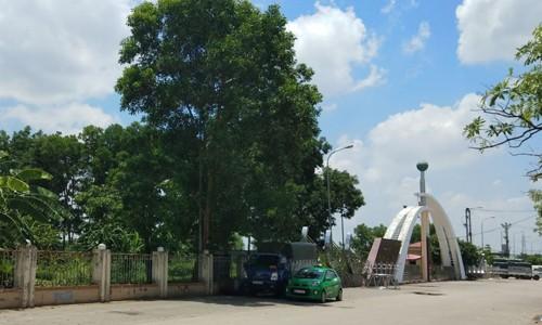Công viên Hoàng Hoa Thám, TP Bắc Giang. Ảnh: Báo Tài nguyên & môi trường
