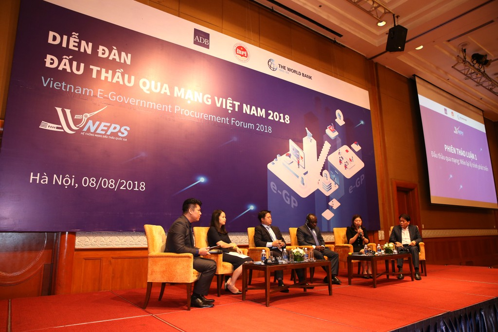 Khai mạc Diễn đàn Đấu thầu qua mạng Việt Nam 2018 - ảnh 5