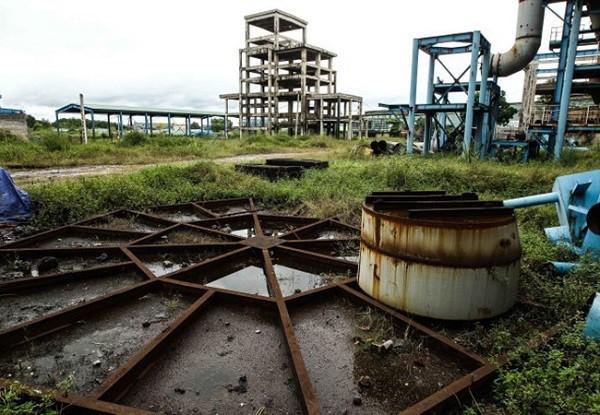 Nhà máy Gang Thép Thái Nguyên đang trong tình trạng kinh doanh thua lỗ. Ảnh minh họa