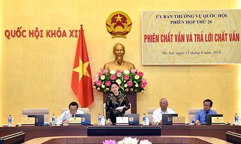 Bộ trưởng, Chủ nhiệm Ủy ban Dân tộc trả lời chất vấn