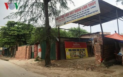 Hàng nghìn m2 đất công ở Thanh Trì bị sử dụng sai mục đích - ảnh 1