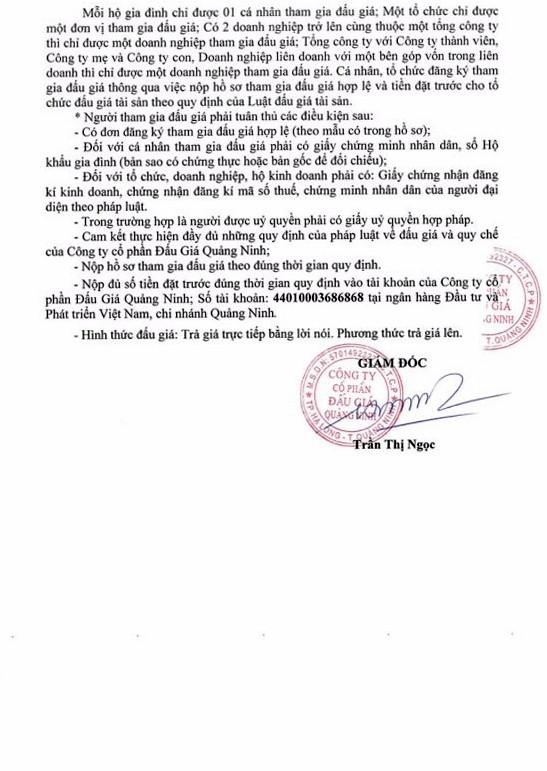 Ngày 30/8/2018, đấu giá vật tư thu hồi tại Quảng Ninh - ảnh 2