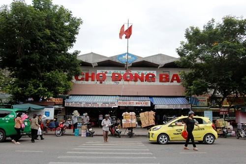Chợ Đông Ba đang được đánh giá cơ sở hạ tầng để nâng cấp.