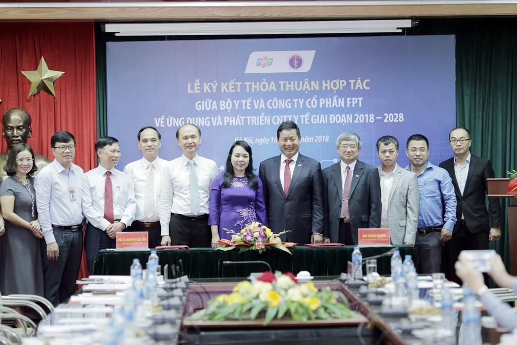 Bộ trưởng Bộ Y tế đánh giá cao FPT đầu tư nghiêm túc, lâu dài cho phát triển và ứng dụng công nghệ y tế