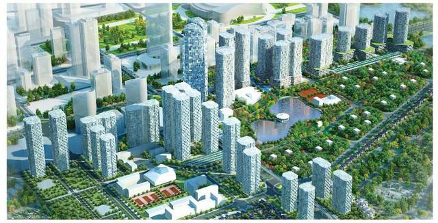 2 biệt thự công vụ nằm tại Khu đô thị Ngoại giao Đoàn, quận Bắc Từ Liêm, Hà Nội.
