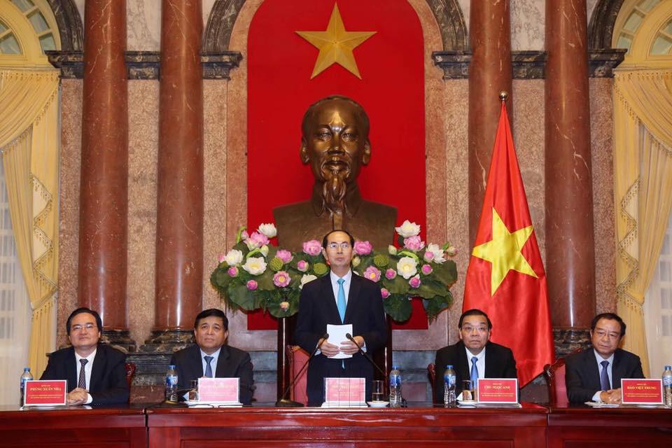 Chủ tịch nước Trần Đại Quang: Đoàn kết trí tuệ Việt góp sức đưa đất nước phát triển - ảnh 1