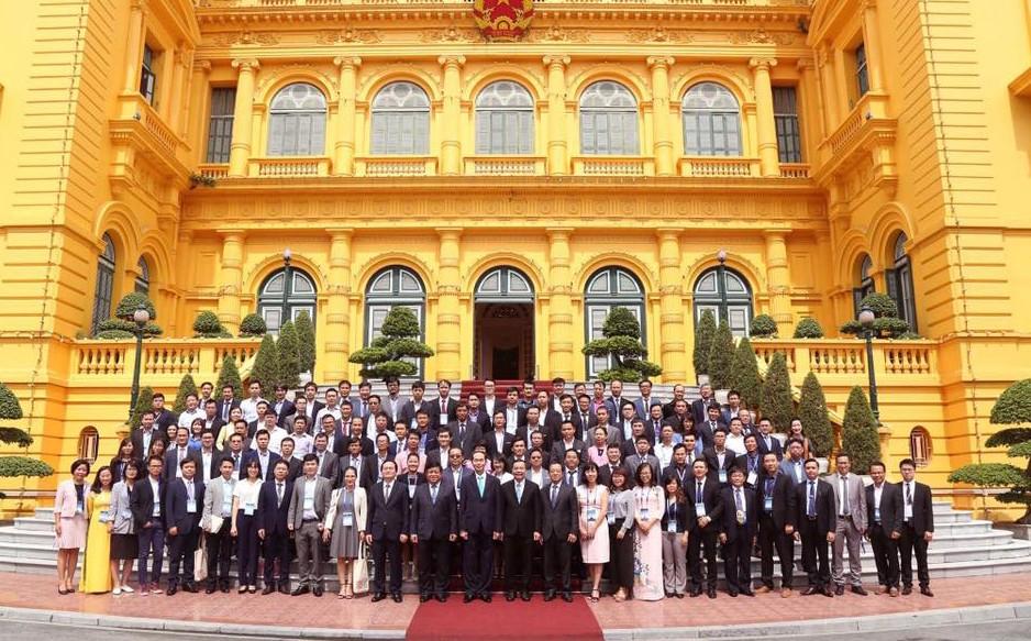 Chủ tịch nước Trần Đại Quang: Đoàn kết trí tuệ Việt góp sức đưa đất nước phát triển - ảnh 3