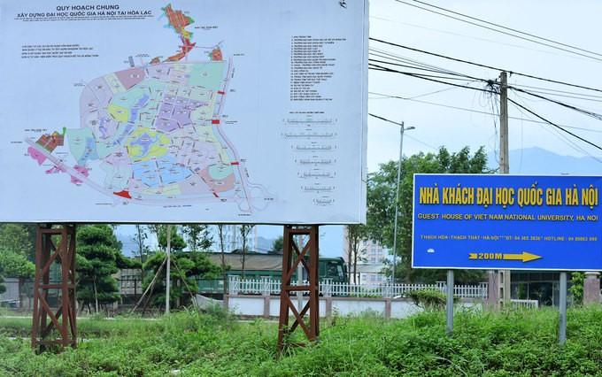Dự án Đại học Quốc gia Hà Nội 15 năm sau khởi công - ảnh 9