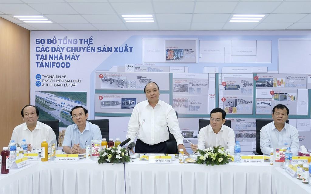 Thủ tướng thăm một số mô hình nông nghiệp công nghệ cao tại Tây Ninh - ảnh 2