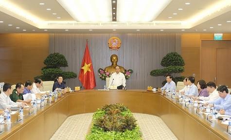 Thường trực Chính phủ họp về công tác tổ chức Hội nghị WEF ASEAN - ảnh 1