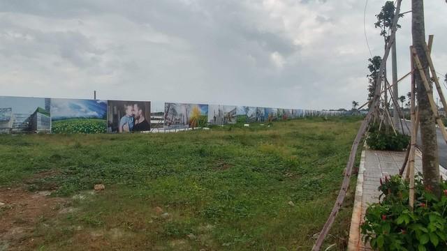 Người dân ở huyện Long Điền cho biết nhiều chủ đầu tư đã phân lô, bán nền khi chưa thực hiện đầy đủ thủ tục pháp lý cho các dự án.