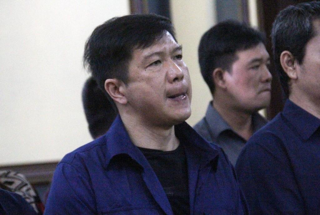 Bị cáo Nguyễn Cảnh Chân đối mặt với mức án 15 năm tù.