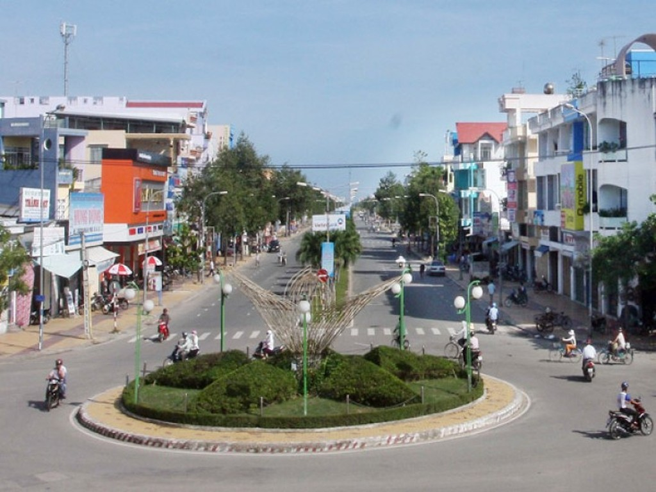 Một góc thành phố Phan Rang-Tháp Chàm, tỉnh Ninh Thuận