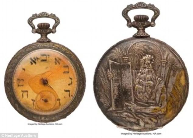 Chiếc đồng hồ đã cùng ông Kantor chìm xuống đại dương, cho tới tuần này, nó đã được đem ra bán đấu giá và đạt mức giá cao.