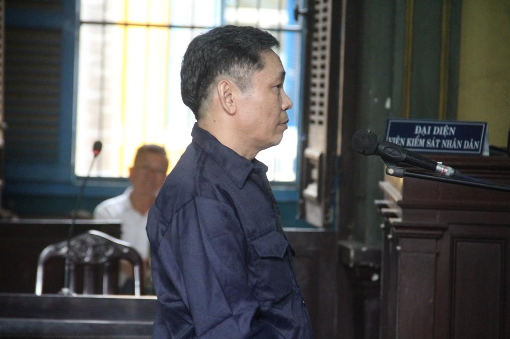 Bị cáo Sỹ tại tòa.