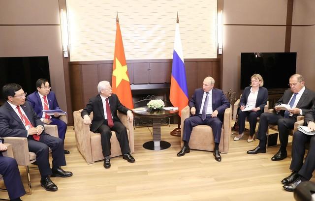 Tổng Bí thư Nguyễn Phú Trọng hội đàm với Tổng thống Nga Vladimir Putin - ảnh 2