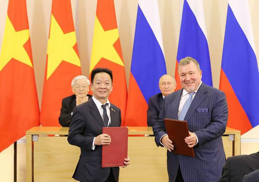 SHB bắt tay chiến lược với 2 ngân hàng Nga - ảnh 1
