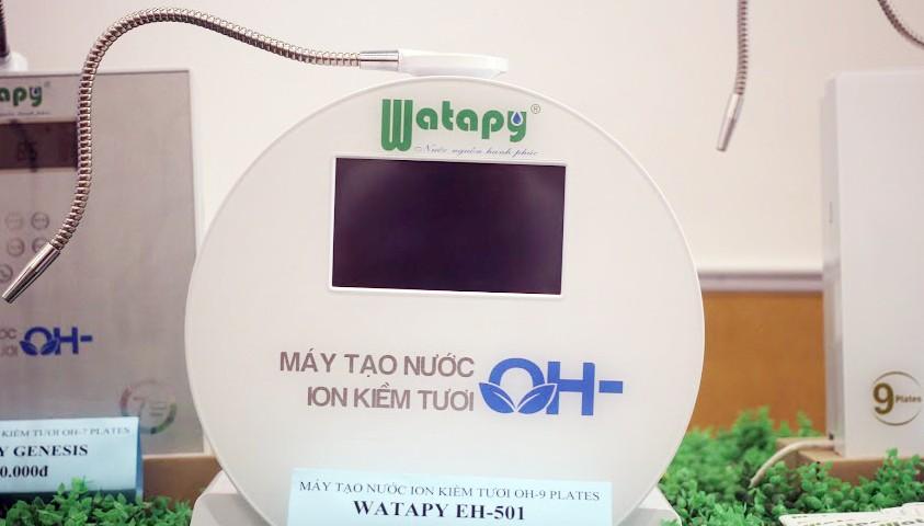 Ra mắt sản phẩm mới cao cấp Máy tạo nước ION kiềm tươi OH - Thương hiệu Watapy