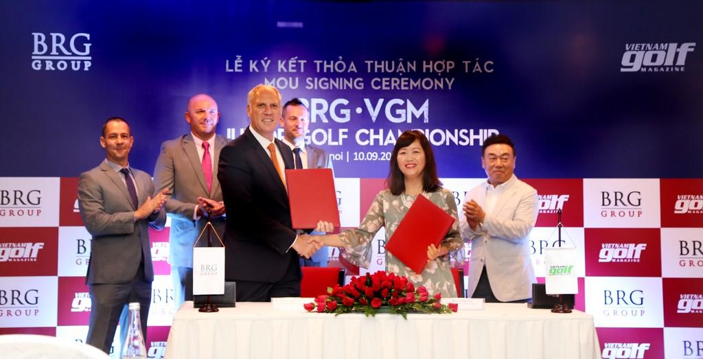 """Tập đoàn BRG đồng hành dài hạn cùng giải gôn trẻ """"BRG - VGM Junior Golf Championship"""""""