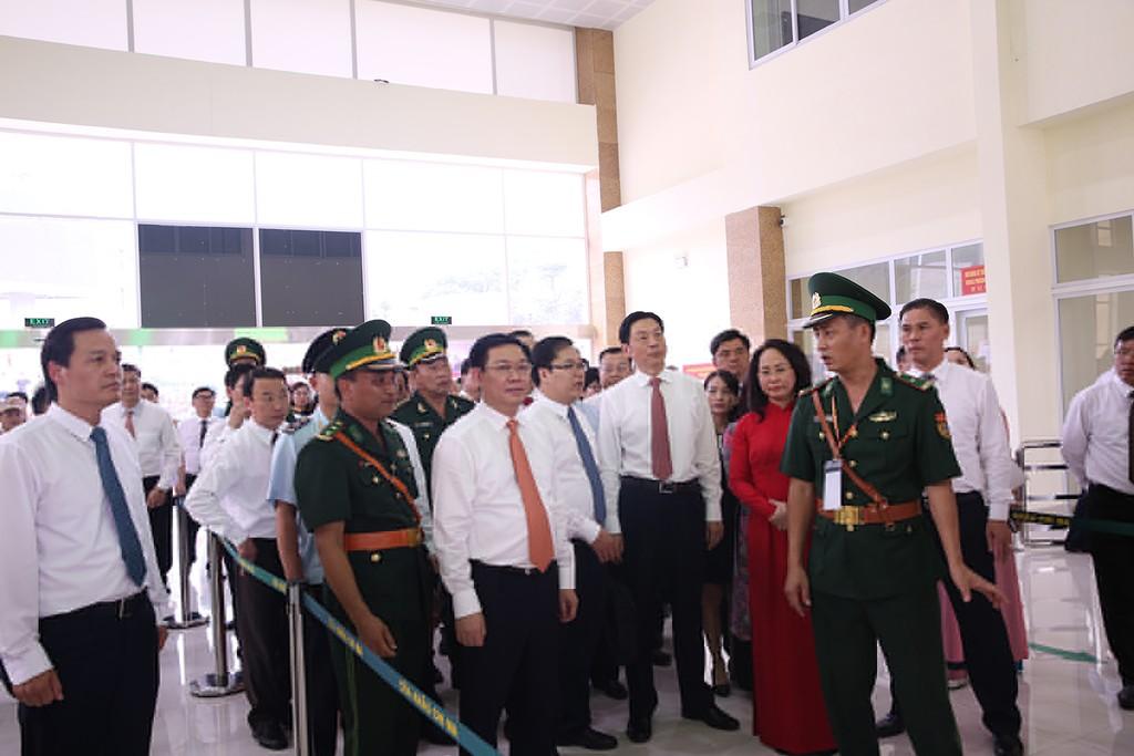 Khai trương cặp cửa khẩu giữa Lạng Sơn-Khu tự trị dân tộc Choang Quảng Tây (Trung Quốc) - ảnh 3