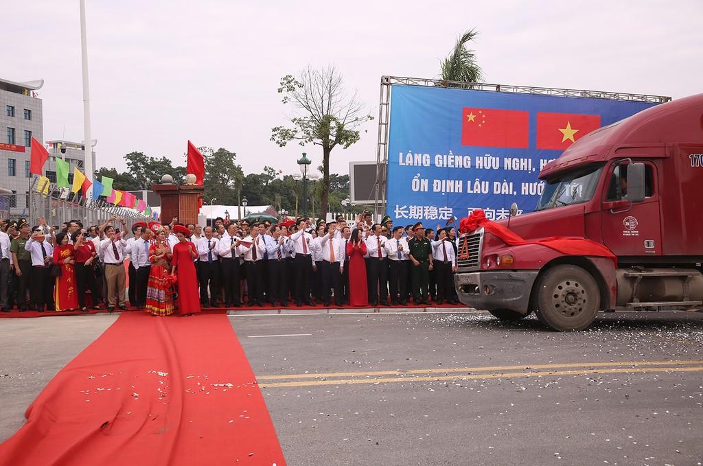Khai trương cặp cửa khẩu giữa Lạng Sơn-Khu tự trị dân tộc Choang Quảng Tây (Trung Quốc) - ảnh 4