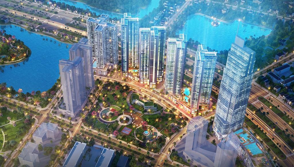 Phối cảnh dự án khu phức hợp Eco Green Saigon