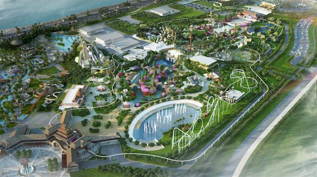 Phối cảnh dự án Công viên Đại dương Hạ Long