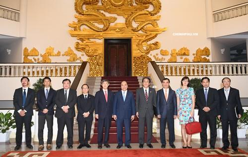 Thủ tướng tiếp Chủ tịch Cơ quan Hợp tác quốc tế Nhật Bản - ảnh 1