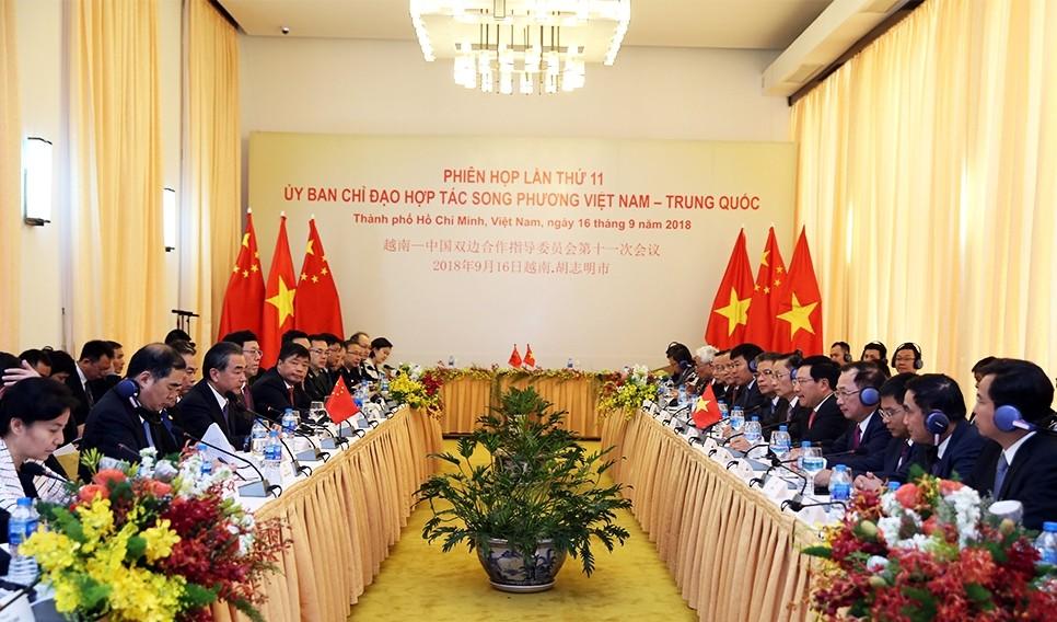 Thúc đẩy hợp tác Việt - Trung theo đúng tinh thần nhận thức chung cấp cao - ảnh 1