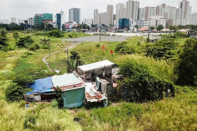 Hiện trạng 4,3 ha đất bị thu hồi sai ở Khu đô thị Thủ Thiêm - ảnh 1