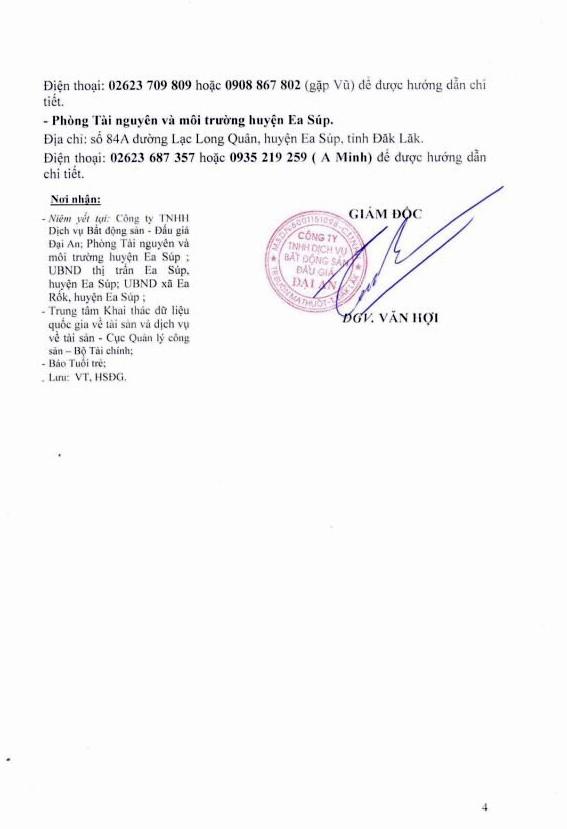 Ngày 11/10/2018, đấu giá quyền sử dụng đất tại huyện Ea Súp, tỉnh Đắk Lắk - ảnh 4