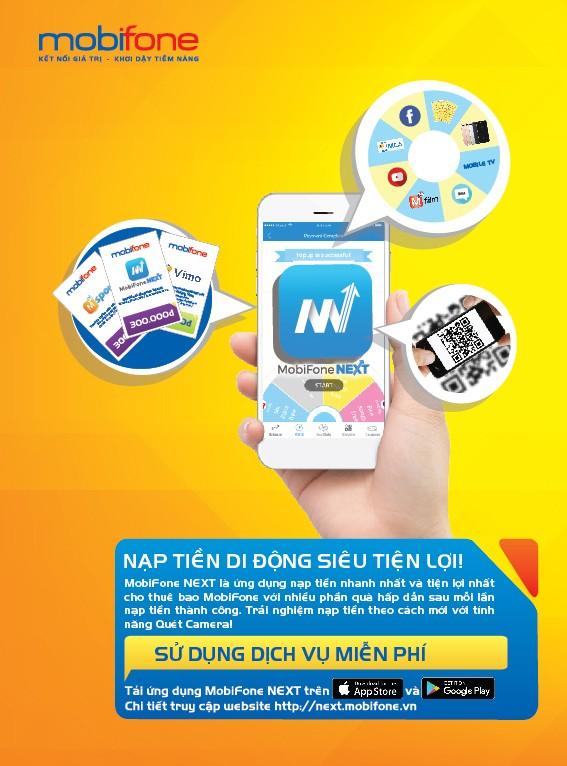Chuyển tiền điện thoại siêu tiện lợi trên ứng dụng MobiFone NEXT - ảnh 1