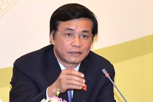 Chủ nhiệm Văn phòng Quốc hội Nguyễn Hạnh Phúc. Ảnh: QH.