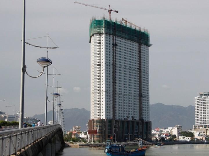 Công trình của Tập Đoàn Mường Thanh bị xử lý sai phạm vì xây vượt tầng