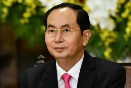 Chủ tịch nước Trần Đại Quang. Ảnh: Vnexpress