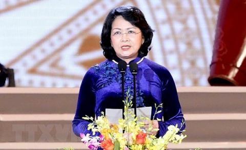 Bà Đặng Thị Ngọc Thịnh.