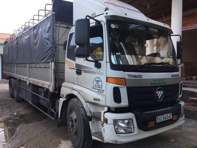 Quảng Bình: Bắt giữ xe tải chở hàng cấm, hàng nhập lậu với số lượng lớn - ảnh 1