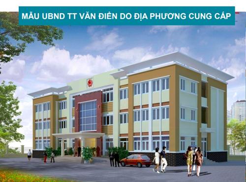 Hà Nội muốn xây trụ sở 'đồng phục' cho gần 500 phường xã - ảnh 1