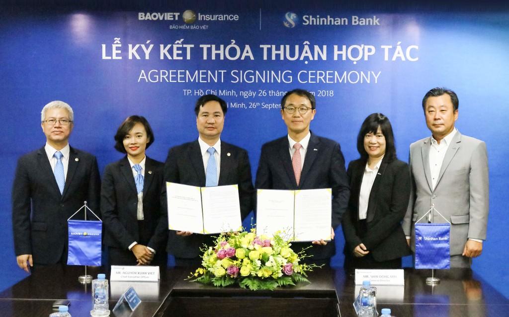 Bảo hiểm Bảo Việt ký kết hợp tác cùng Ngân hàng Shinhan - ảnh 2